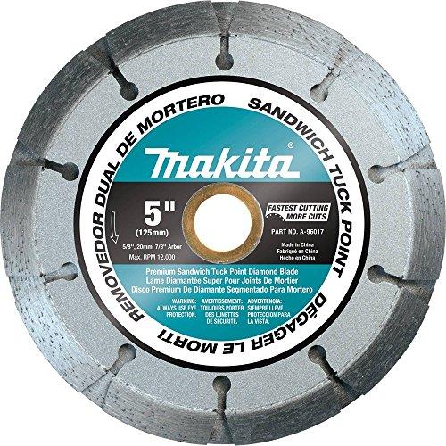 "Makita A-96017 Dual Sandwich Diamond Tuck Point Blade, 5"""