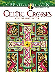Celtic Crosses Coloring Book