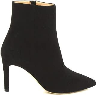 LEONARDO SHOES Luxury Fashion Womens 4998BLACK Black Ankle Boots | Season Permanent