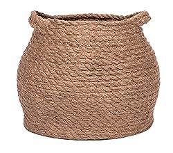 Jolly Jon Large Brown Jute Storage Basket
