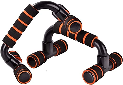 HUZB® Push Up Bars Stand with Foam Grip Handle for Chest Press, Gym & Home Exercise, Strength Training, Dips/Push Up...