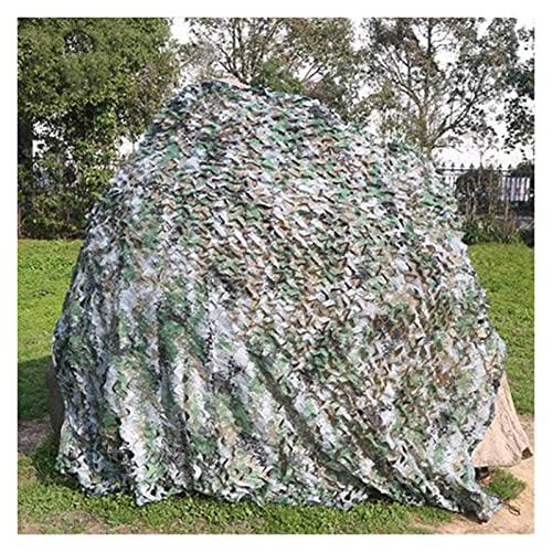 XDRE Parasol Coche Camuflaje Militar Red Camuflaje Red Redes del ejército Shade Malla Caza jardín Coche al Aire Libre Camping Sol Refugio Tarpa Tarpa Cortina de Malla para Coche