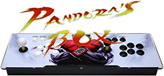 AB INC Video Game Console, Arcade Machine Over 1200 Latest Classic Games, 2 Players Pandora's Box 5S Multiplayer Home Arcade Console Games All in 1 Non-Jamma PCB Double Stick Newest Design Power HDMI
