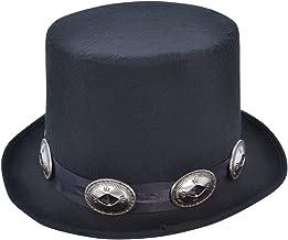 Bristol BH642 - Sombrero de estilo rockero, color negro, talla única