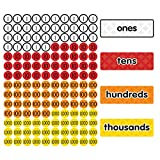 Dowling Magnets Magnet Math Magnetic Place Value Disks & Headings (Grades 1–3), Multi (DO-732159)