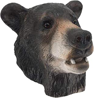 Realistic Bear Latex Mask Adult Novelty Carnival Animal Latex Over Head Mask for Halloween Party Cosplay Decorating