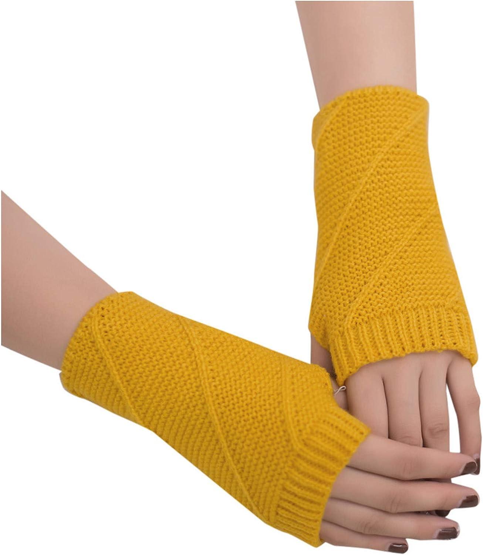 Women Girl Knitted Arm Fingerless Keep Warm Winter Gloves Soft Warm Mitten Fashion/Prom/Warm/Bicycle Gloves