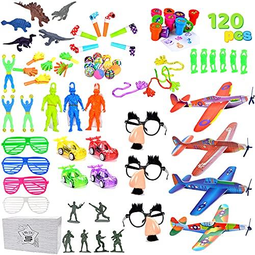 Más de 100 piezas de juguetes surtidos para fiestas, cumpleaños, premios del colegio, premios de carnaval, piñatas de Joyin Toy