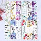 BLOUR 30 unids/Set Hermosas Flores marcadores Tarjetas de Mensaje Libro Notas Soporte de página de Papel para Libros Material de Oficina Escolar papelería
