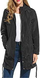 Womens Raincoat Mac Long Jacket