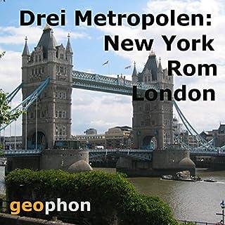 Metropolen. New York. Rom. London Titelbild