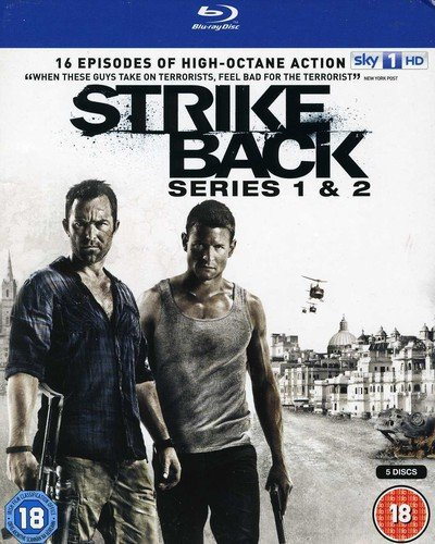 Strike Back - Series 1+2 [Blu-ray]