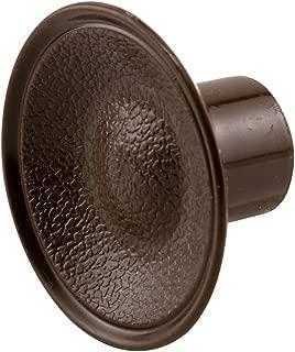 Slide-Co 163173 Bi-Fold Door Pull Knob, Brown Plastic,(Pack of 2)