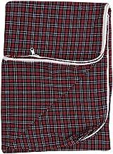 HomeStore-YEP Cotton 120 TC Mattress Cover (Standard_Multicolour)