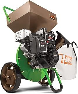 Earthquake Tazz K42 Chipper Shredder, 205cc Gas Powered 4-Cycle Briggs and Stratton Engine, 5 Year Warranty