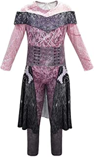 Tsyllyp Kids Girls Bodysuit Halloween Costume Party Cosplay Outfit