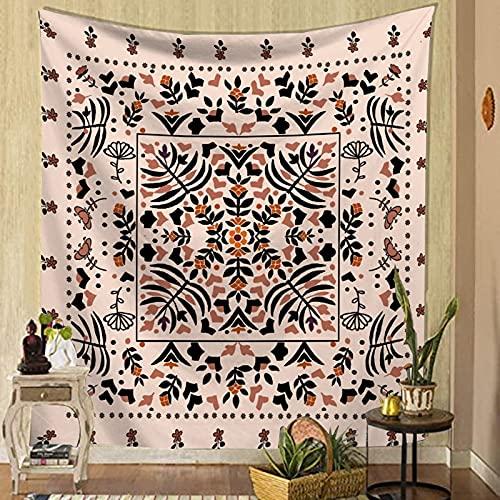 Mariposa flor tapiz colgante de pared hogar insecto planta impresión sofá fondo tela decoración noche pintura manta A8 180X200CM