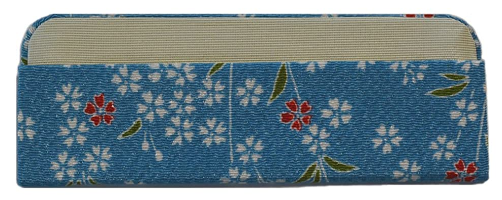 ラッドヤードキップリング合図空虚「櫛ケース」4.0寸とき櫛専用 (水/枝桜)