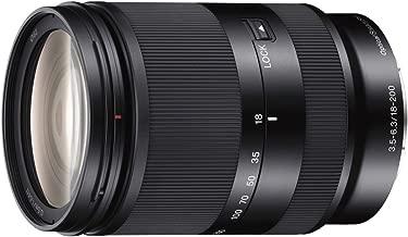 Sony 18-200mm F3.5-6.3 E-Mount Lens SEL18200LE