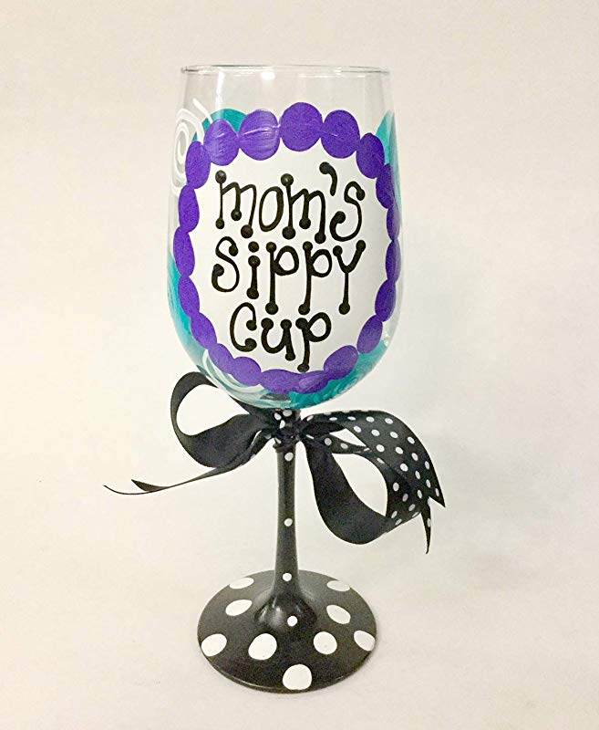 Mom S Sippy Cup Wine Glass