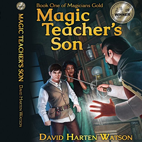 Magic Teacher's Son audiobook cover art