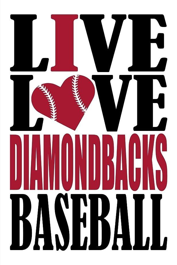 手荷物伝統的操作Live Love Diamondbacks Baseball Journal: A lined notebook for the Arizona Diamondbacks fan, 6x9 inches, 200 pages. Live Love Baseball in black and I Heart Diamondbacks in red.