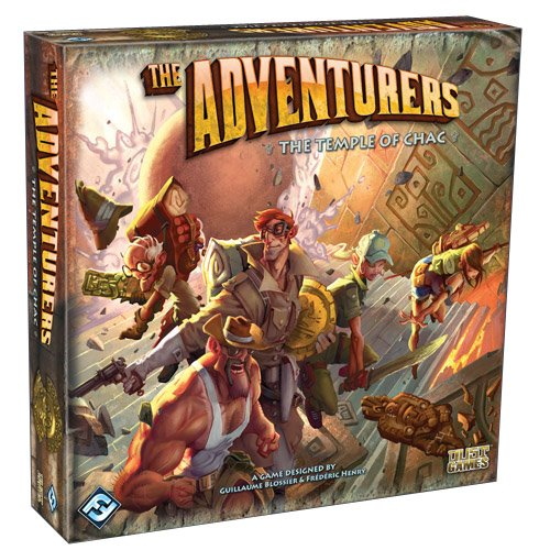 The Adventurers: The Temple of Chac Board Game
