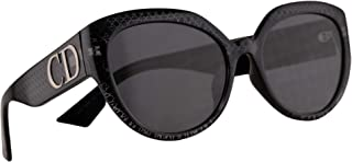 60fc5d6e94 Christian Dior DDiorF Sunglasses Negro Con Lentes Gris 56mm PRN2K DDior