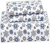 Best Flannel Sheets - Ruvanti 100% Cotton 4 Piece Flannel Sheets Queen Review