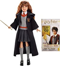 Harry Potter Merchandise Doll Plus Wand - Wizarding World of Harry Potter Gifts Hermione Granger Doll and Die Cast Wand Set for Collectors