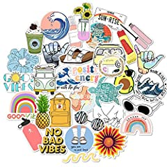 There are 35 different stickers in each pack. Compliments and good mood are guarantee! Perfect Size: Multiple sizes of stickers can be pasted in different places(2 - 4 in). All Cute stickers made by high quality of vinyl. Suitable to your water bottl...