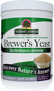 Nature's Answer Brewer's Yeast 16 Ounce | Natural Source of Vitamin B | Vegan, Non-GMO / Soy Free | For Breastfeeding's Mo...