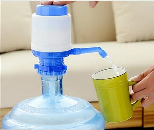 Distributeur Pompe eau Universal bouteille bidon 5L, 8L, 10L, 2.5L anti goutte, adaptable, manuel Camping, école, bur...