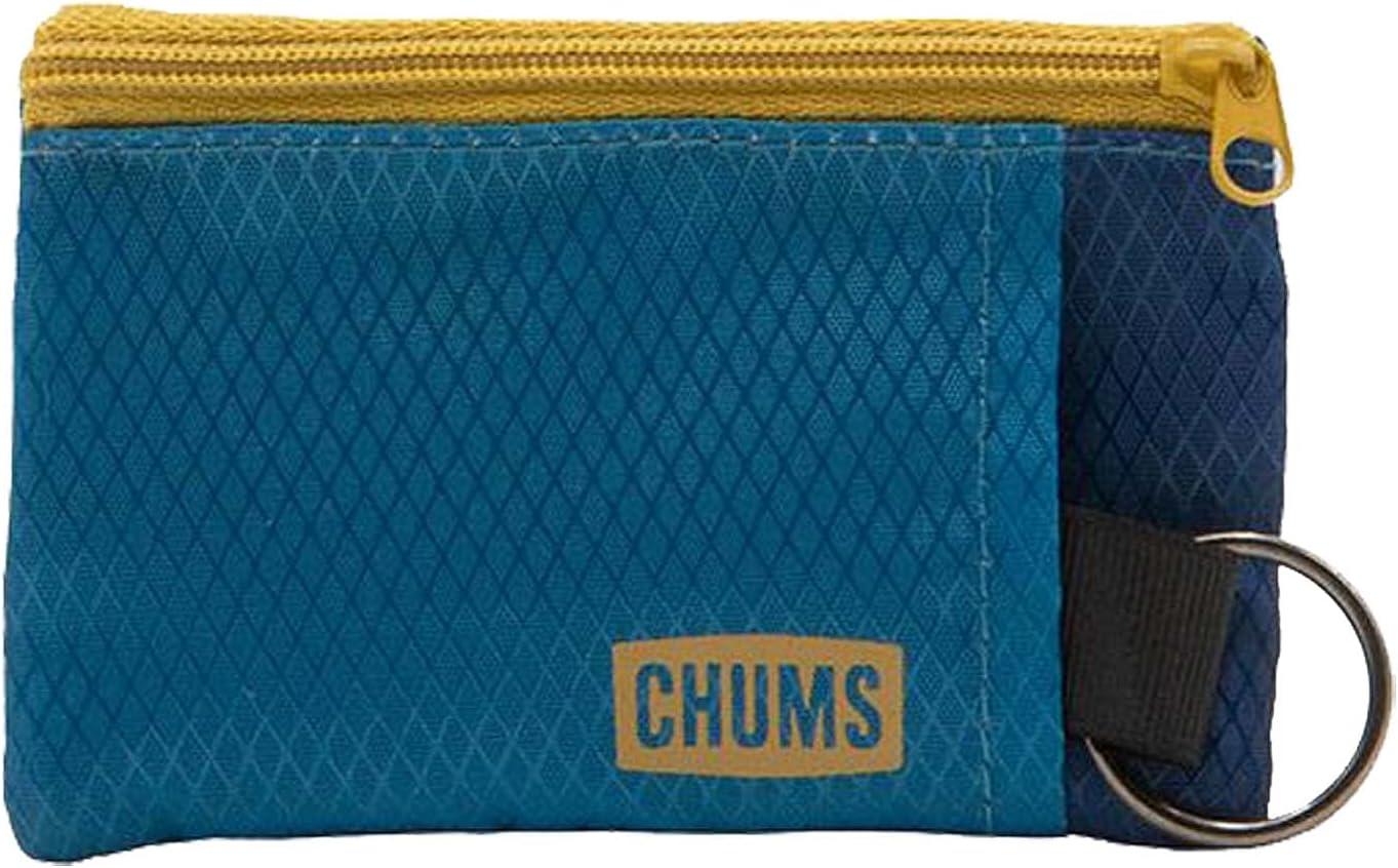 Chums Original Surfshorts Wallet Dark Blue Tan Durable rip-stop Nylon