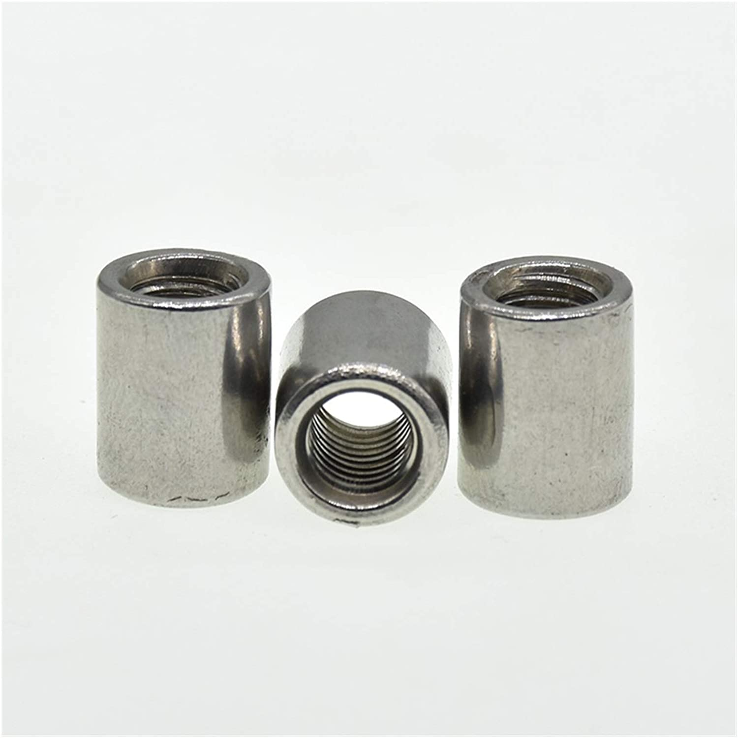 WYHM Long Hexagon Industry No. 1 Nut Round Coupling Boston Mall Nuts M3 M6 M10 M4 Ext M5 M8
