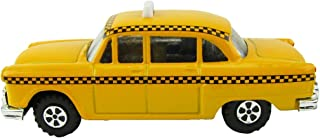 TreasureGurus, LLC 1:48 O Scale Miniature Checker Taxi Cab Model Train Accessory Pencil Sharpener