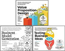 Alexander Osterwalder 3 Books Collection Set (Value Proposition Design, Business Model Generation, Testing Business Ideas)