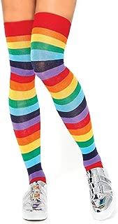 Women's Rainbow Pride Festival Thigh Highs Socks