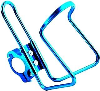 自転車オートバイアクセサリー、バックルカップホルダー装飾ボトルケージ、自転車カップホルダー - LXZXZ (色 : Blue)