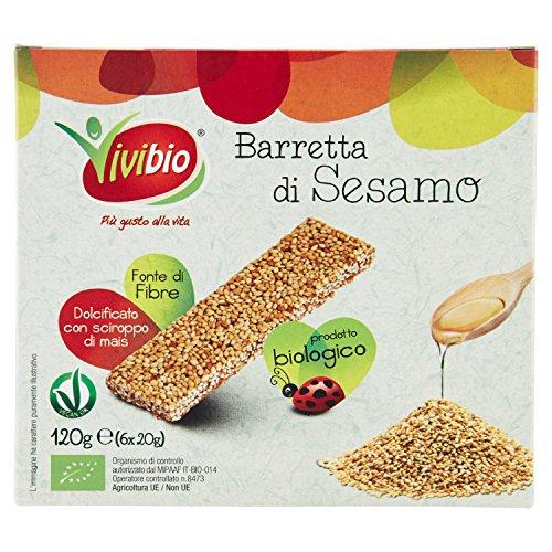 VIVIBIO- BARRETTA DI SESAMO BIO 6 x 20gg