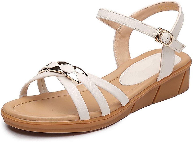 BAJIAN-LI Hohe heelsdamen Sandalen, Sandalen, Sandalen, Sommer Peep-toe Halbschuhe Damen Flip Flops Sandalen Schuhe  cb43e4