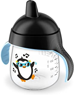Philips Avent My Penguin Sippy Cup 9oz, Black, 1pk, SCF753/33