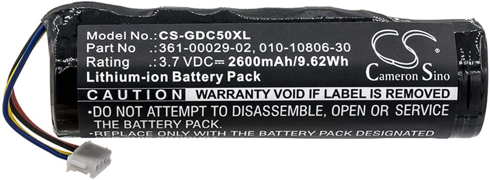 BXT-Focus 3.7V 2600mA Battery for OFFicial mail order Garmin Mesa Mall Dog Tra Standard GPS T5
