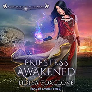 Priestess Awakened audiobook cover art