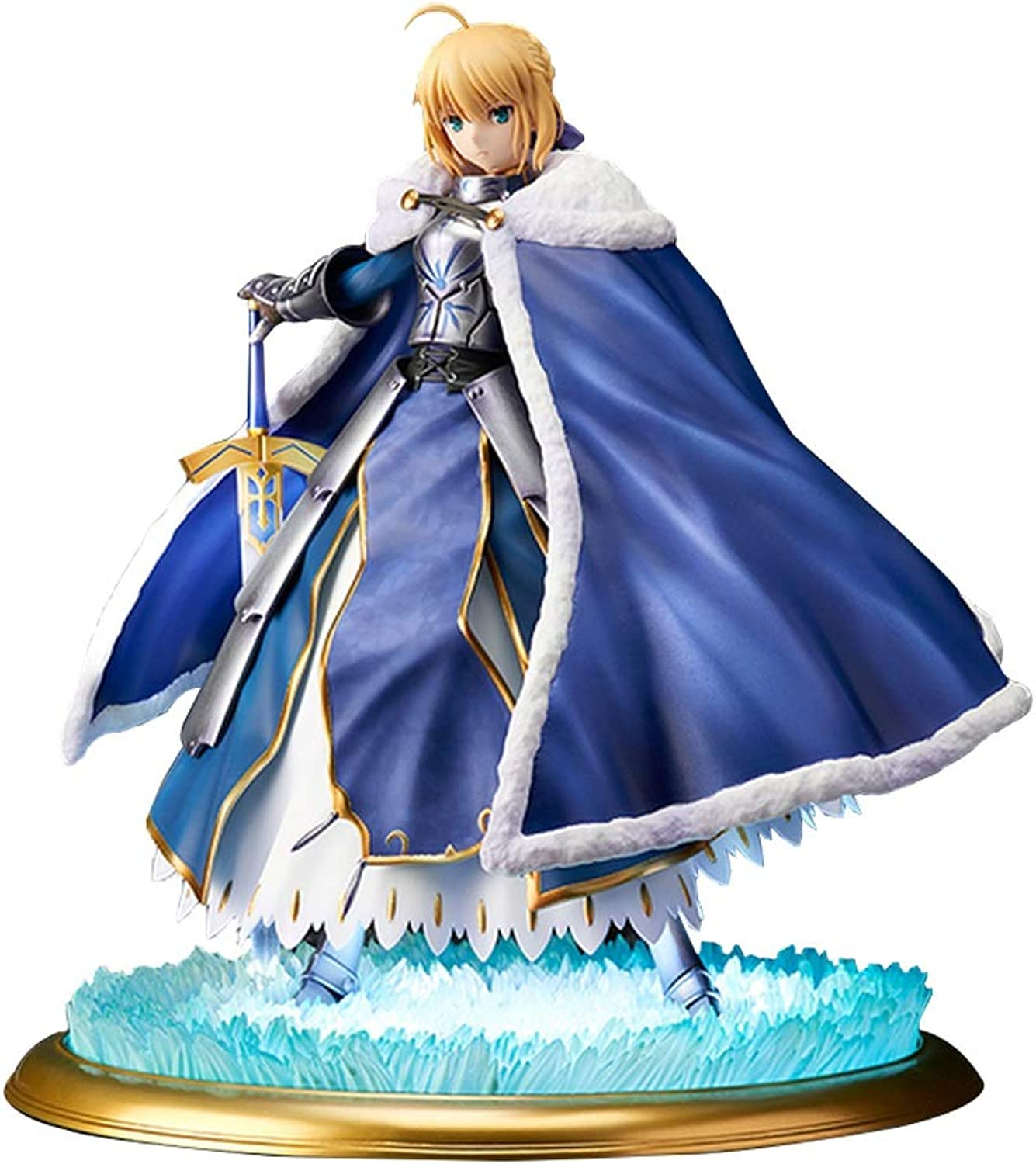 Siyushop Fate Grand Order Saber Altria Pendragon Deluxe PVC Figure Highly Detailed Accurate Sculpt  Equipped With Weapons  High 25CM
