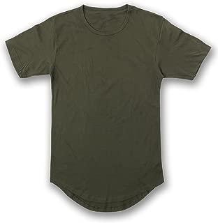 Men's Hipster Longline Drop Cut T-Shirts