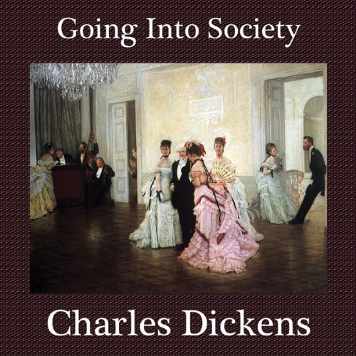 Going into Society audiobook cover art