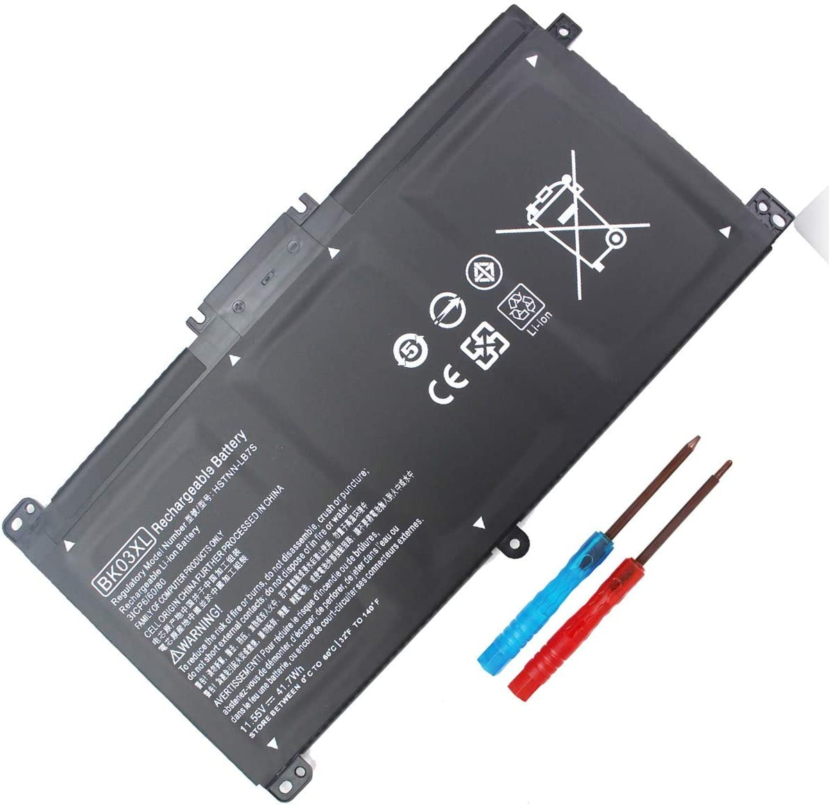 BK03XL Omaha Mall Laptop specialty shop Battery Compatible with Converitb X360 Pavilion HP