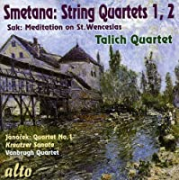 Smetana: String Quartets Nos. 1 & 2 / Suk: Meditation on St. Wenceslas / Janacek: Quartet No. 1 - Kreutzer Sonata (2010-06-15)