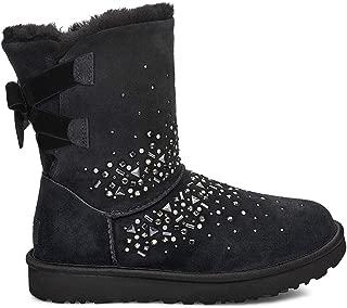 Womens Classic Galaxy Bling Short Boot